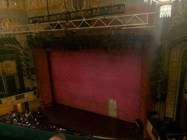Shubert Theatre, section: Balcony, row: C, seat: 12