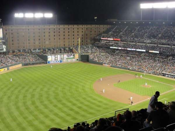 Oriole Park at Camden Yards, section: 360