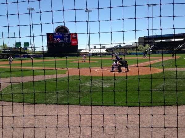 Sahlen Field, section: 103, row: A, seat: 5