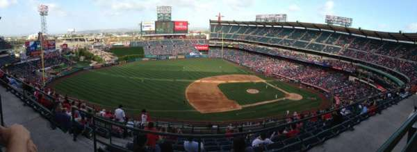 Angel Stadium, section: V512, row: A, seat: 23