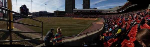 Sahlen Field, section: 125, row: D