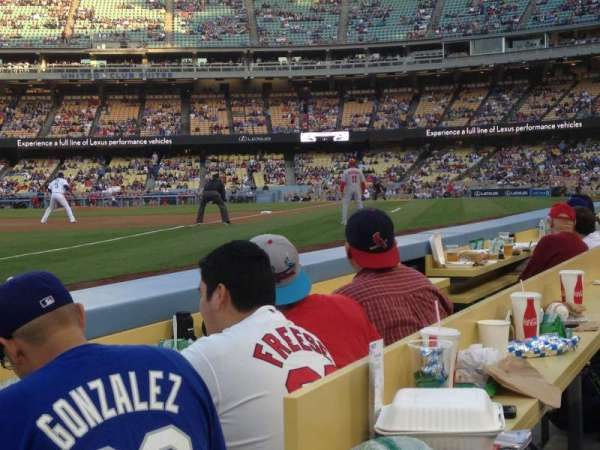Dodger Stadium, section: 39BL, row: 2, seat: 1