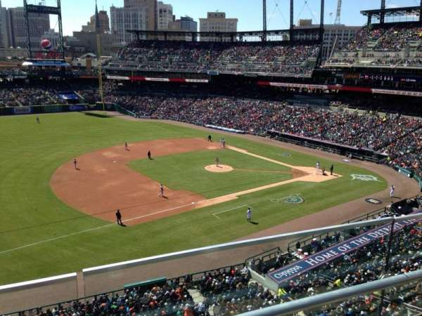 Comerica Park, section: 337, row: B, seat: 20