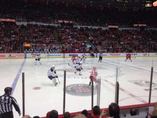 Joe Louis Arena, section: 108, row: 6, seat: 12