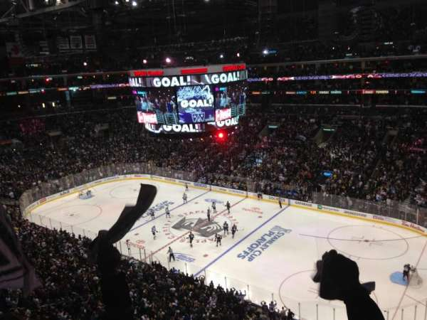 Staples Center, section: 315, row: 10, seat: 13