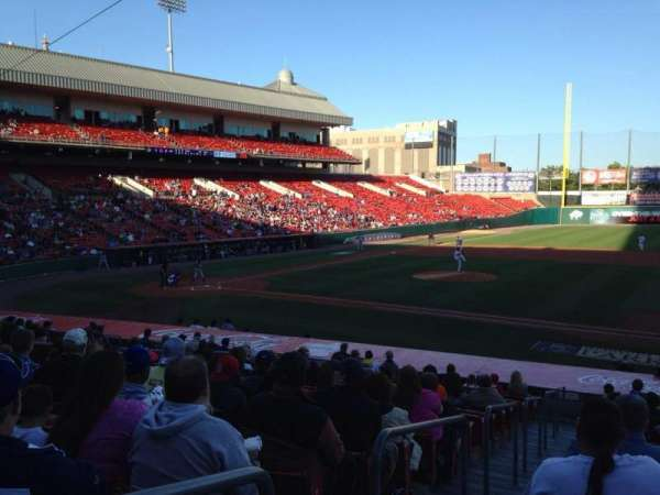 Sahlen Field, section: 114, row: T, seat: 12