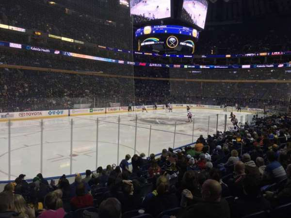 KeyBank Center, section: 109, row: 13, seat: 24