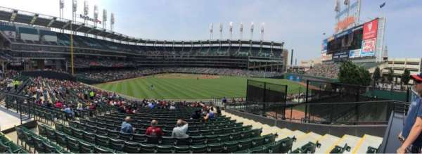 Progressive Field, section: 108