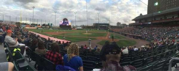 Sahlen Field, section: 105, row: K, seat: 8