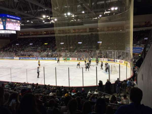 Erie Insurance Arena, section: 207, row: Q, seat: 1