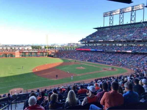 Oracle Park, section: 226, row: M, seat: 12