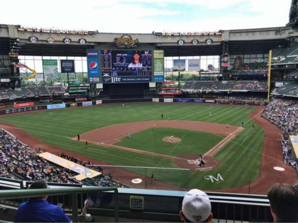 Miller Park, section: 332, row: 4, seat: 11