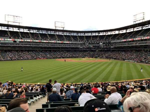 Guaranteed Rate Field, section: 162, row: 28, seat: 24