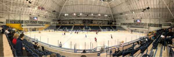 Mattamy Athletic Centre at the Gardens, section: W5, row: H, seat: 4