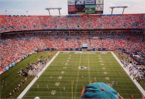 Hard Rock Stadium, section: 456, row: 22, seat: 24