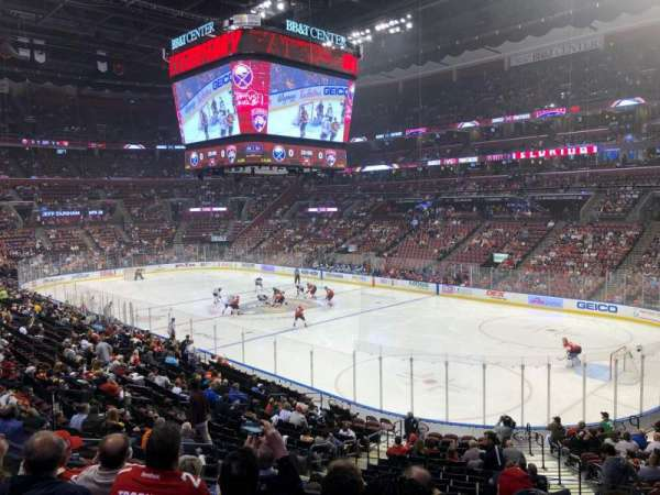 BB&T Center, section: 114, row: 22, seat: 9