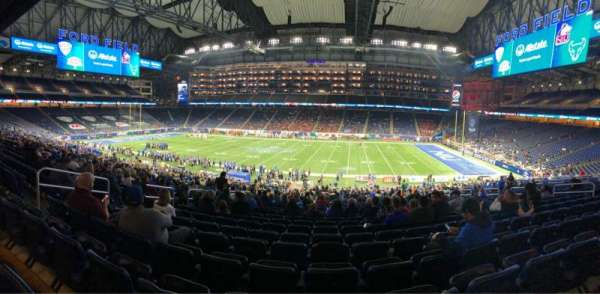 Ford Field, section: 129, row: 39, seat: 8