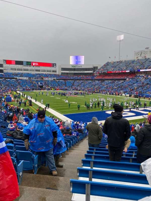 Buffalo Bills Stadium, section: 104, row: 30, seat: 18