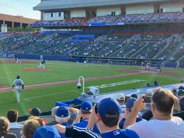 Sahlen Field, section: 115, row: J, seat: 6