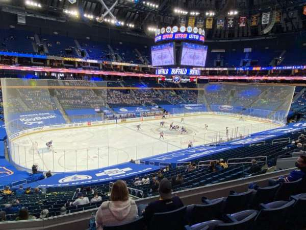 KeyBank Center, section: 221, row: 4, seat: 3