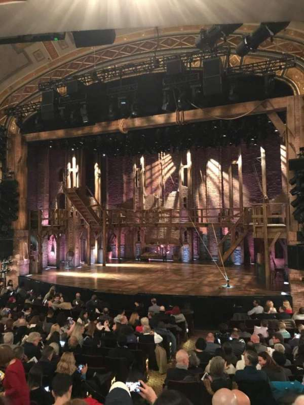 Richard Rodgers Theatre, section: Orchestra R, row: P, seat: 8-10