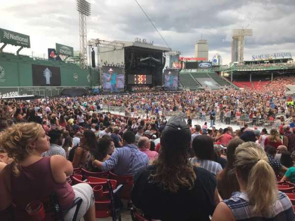 Fenway Park, section: LOGE BOX 154, row: HH, seat: 4