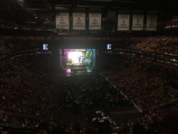 TD Garden, section: Bal 309, row: 12, seat: 19