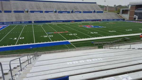 Joe Aillet Stadium, section: G, row: 24, seat: 25