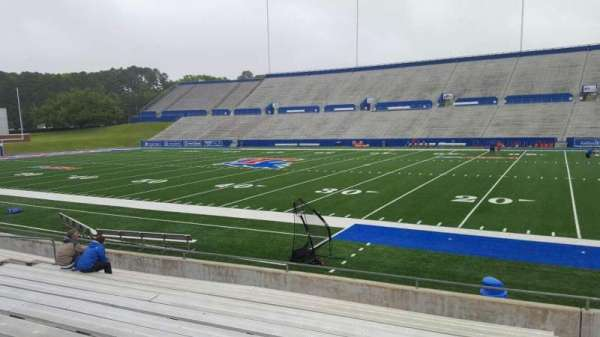 Joe Aillet Stadium, section: C, row: 13, seat: 1