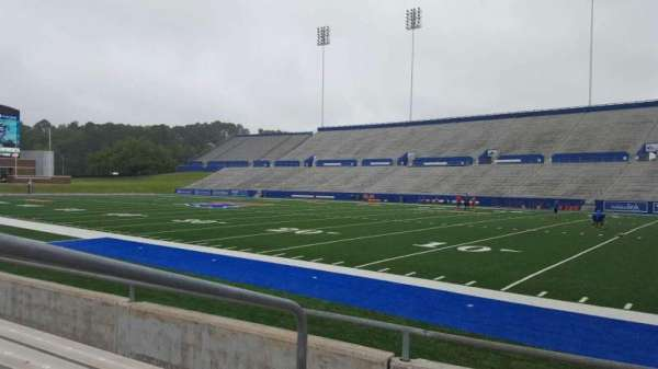 Joe Aillet Stadium, section: A, row: 5, seat: 23