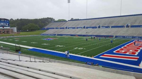 Joe Aillet Stadium, section: A, row: 19, seat: 3