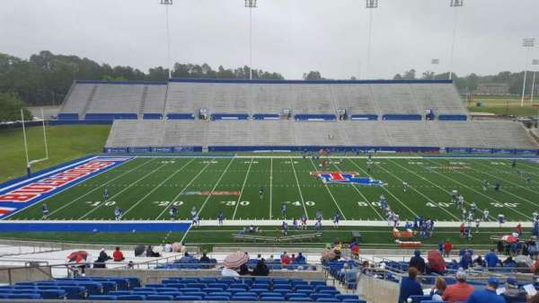 Joe Aillet Stadium, section: FF, row: 41, seat: 12