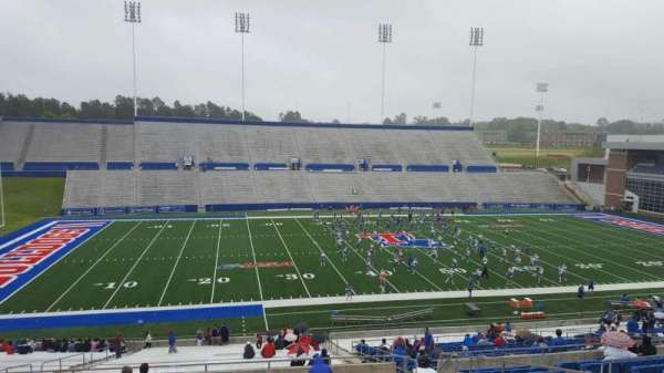 Joe Aillet Stadium, section: GG, row: 41, seat: 9