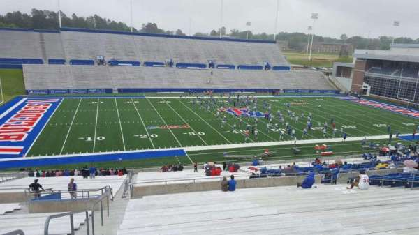 Joe Aillet Stadium, section: GG, row: 46, seat: 28