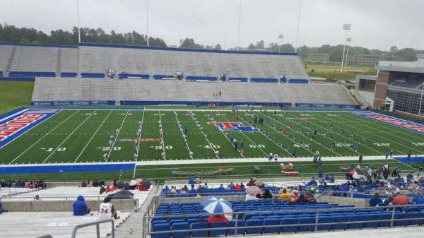 Joe Aillet Stadium, section: ff, row: 46, seat: 28