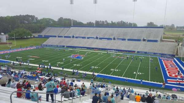 Joe Aillet Stadium, section: BB, row: 46, seat: 21