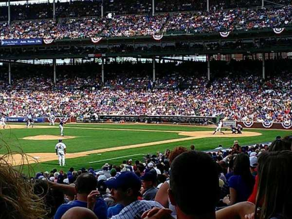 Wrigley Field, section: 107, row: 14, seat: 15