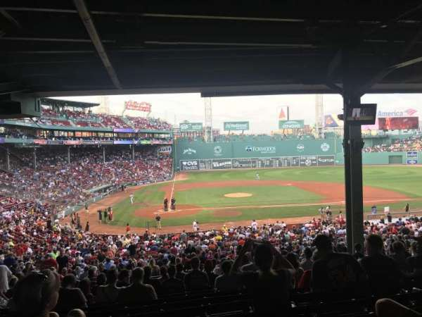 Fenway Park, section: Grandstand 17, row: 15, seat: 14