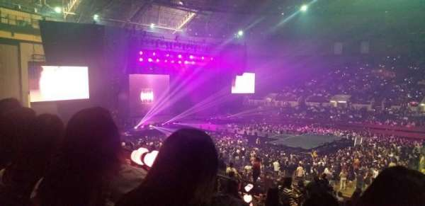 Fort Worth Convention Center , section: 315, row: K, seat: 7 - 8