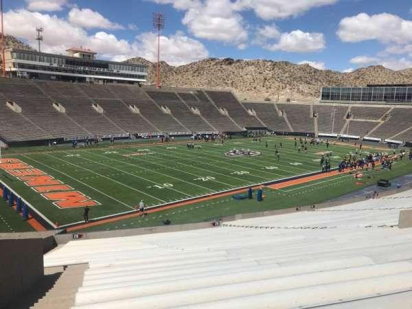 Sun Bowl Stadium, section: 26, row: 43, seat: 31