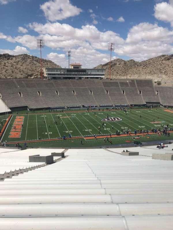 Sun Bowl Stadium, section: 24, row: 84, seat: 32