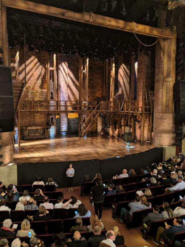CIBC Theatre, section: Dress Circle L, row: a, seat: 7