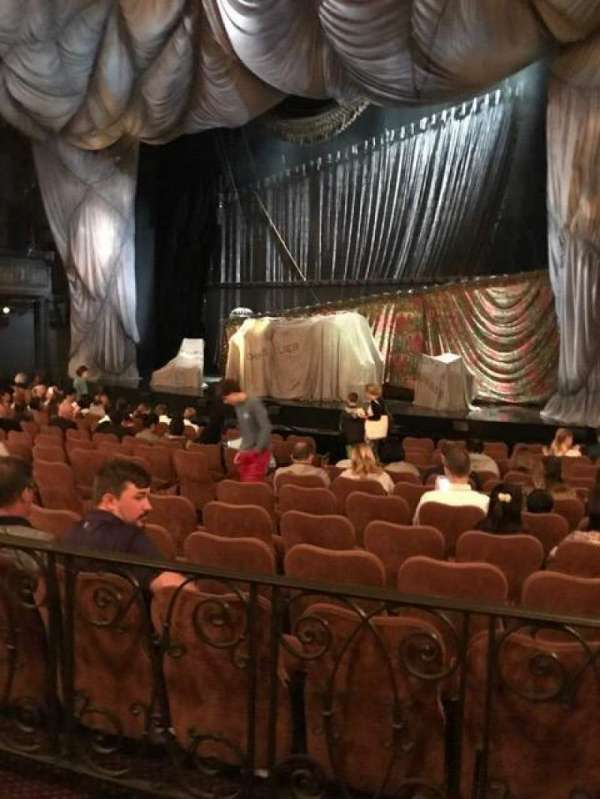Majestic Theatre, section: Orchestra R, row: K, seat: 14