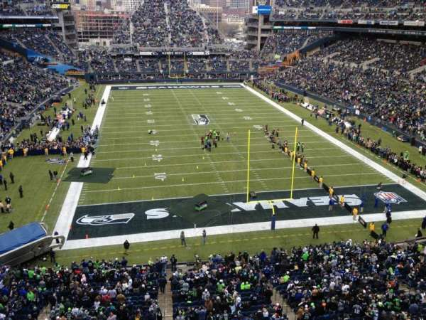 CenturyLink Field, section: 323, row: A, seat: 18