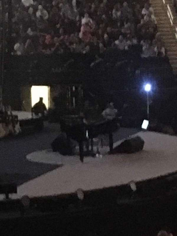 Madison Square Garden, section: 116, row: 12, seat: 4