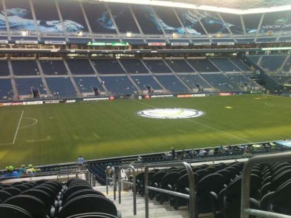 CenturyLink Field, section: 112, row: M, seat: 1