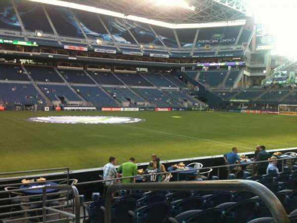 CenturyLink Field, section: 111, row: G, seat: 1