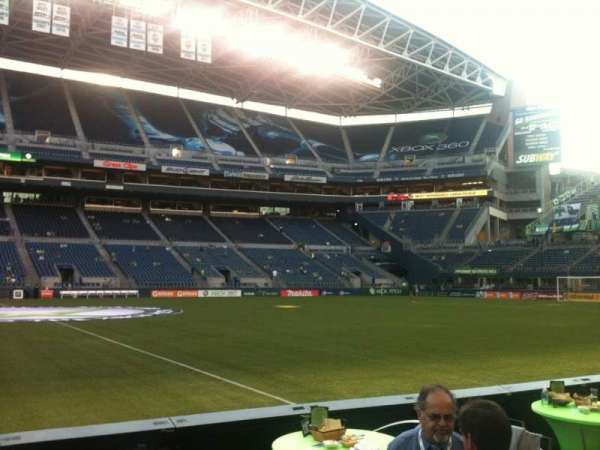 CenturyLink Field, section: 209, row: A, seat: 24