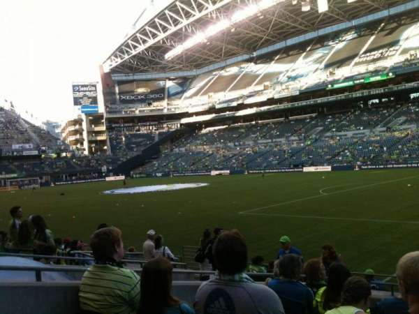 CenturyLink Field, section: 130, row: L, seat: 1