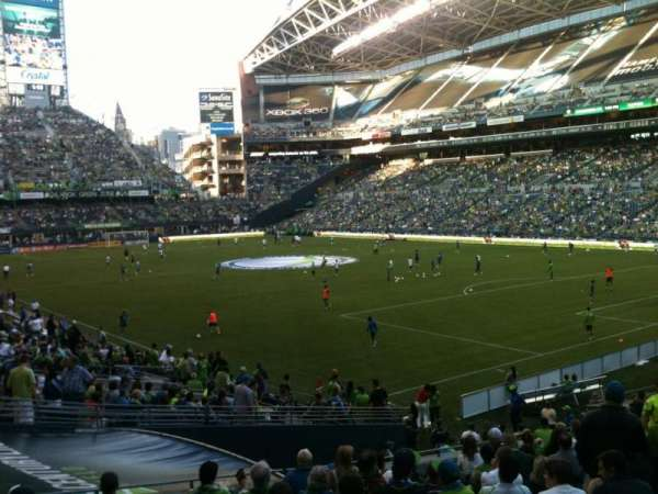 CenturyLink Field, section: 127, row: Z, seat: 13